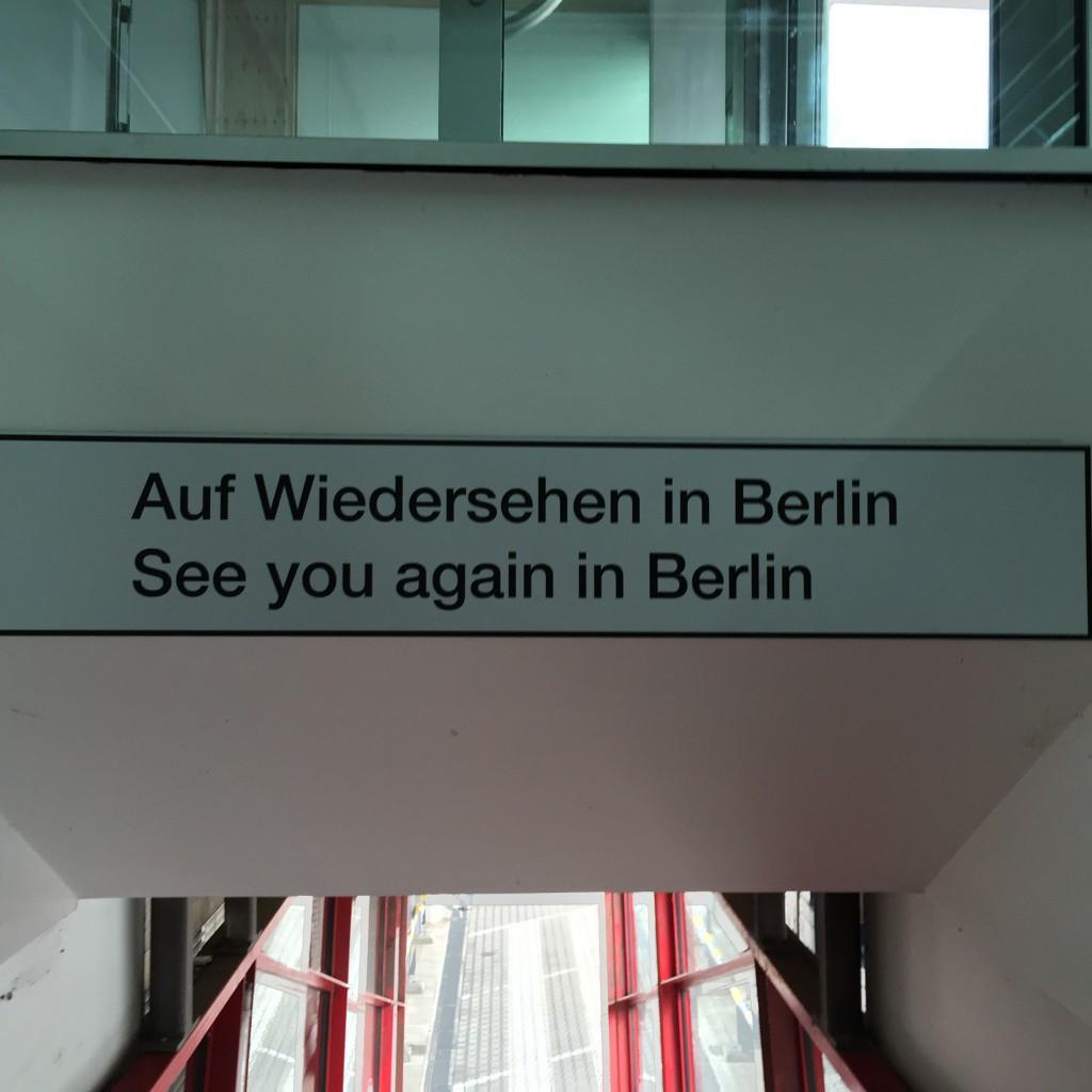 Abschied vom Flughafen Tegel