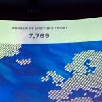 7766, 7767, 7768, 7769 - Der Zählerstand im One World Trade Center für uns