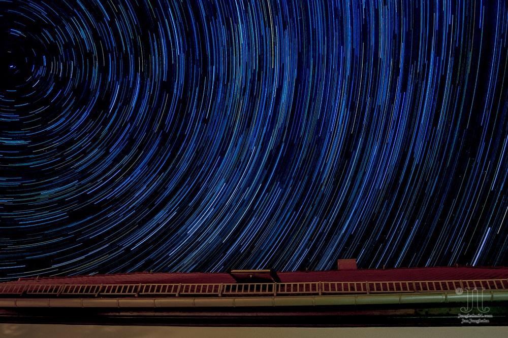 Sternschnuppen am Himmel im August 2020