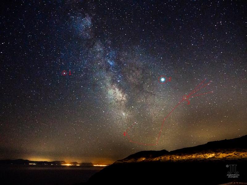 Sommerhimmel im August 2020