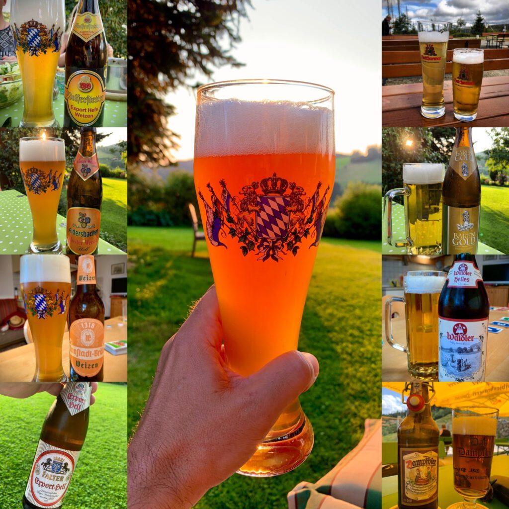 Biere im bayrischen Wald